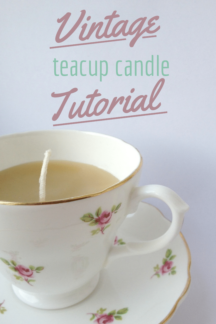 Diy teacup candles crafts on sea for Diy candle crafts
