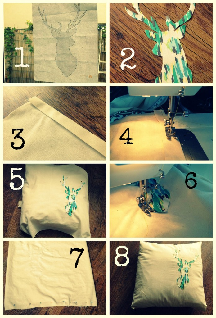 Stag Cushion Tutorial (1)