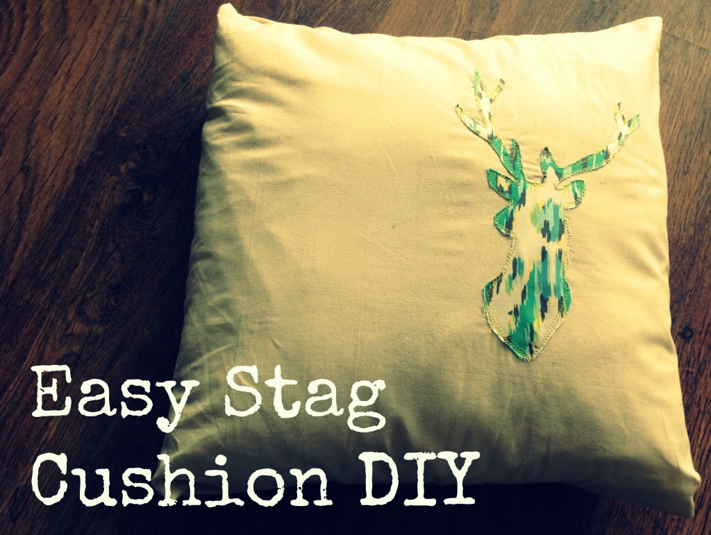 stag cushion diy (1)