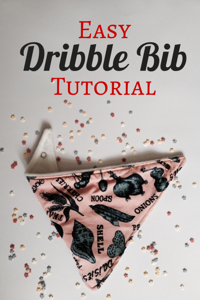 How to make a dribble bib
