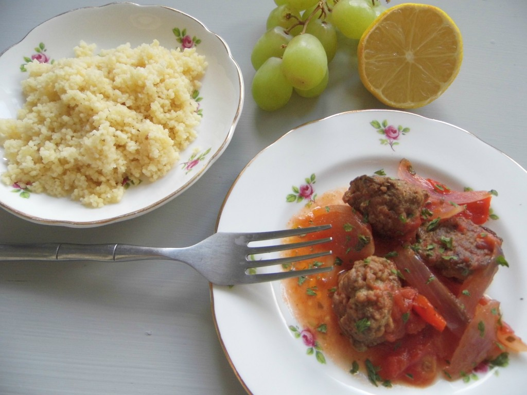 Moroccan Lamb Meatballs – Feeds two adults and one small person ...