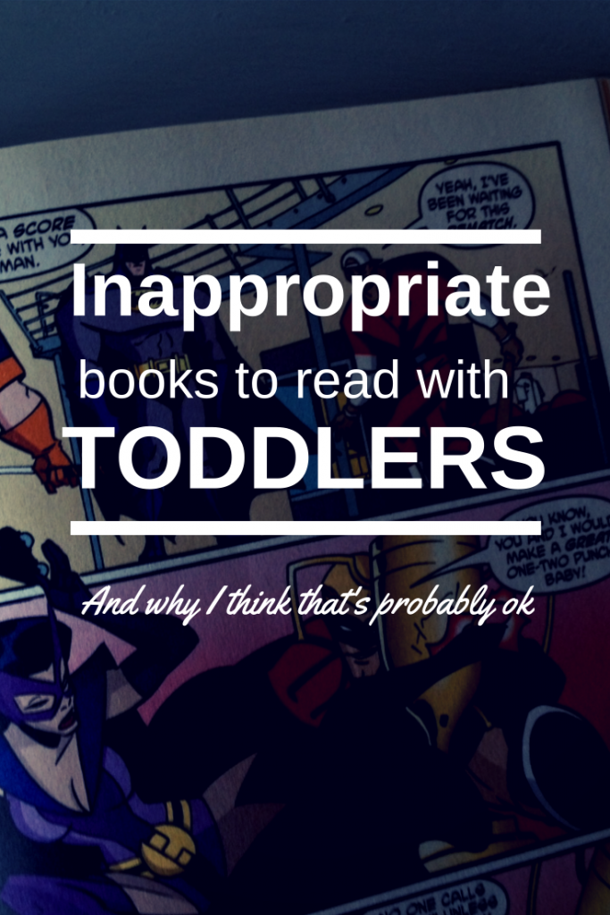Inappropriate books for toddlers