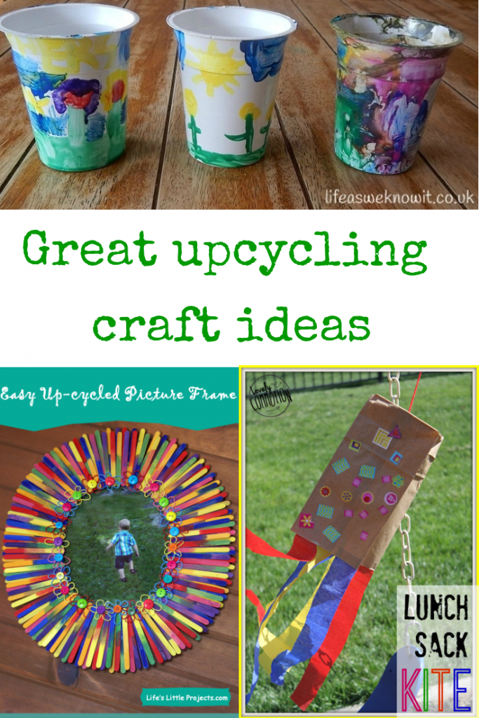 great upcycling craft ideas