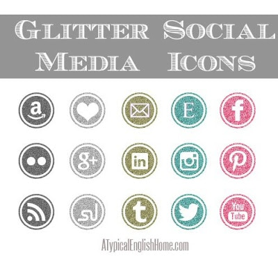freeglittersocialmediaicons a typical english home