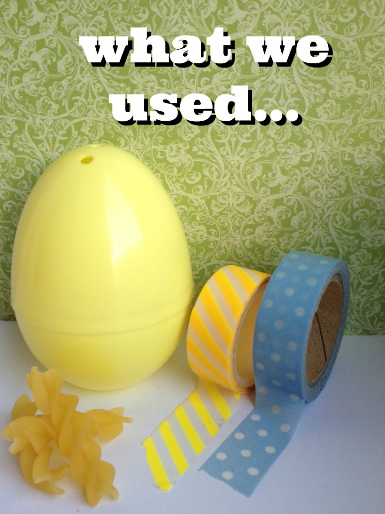 plastic egg crafts