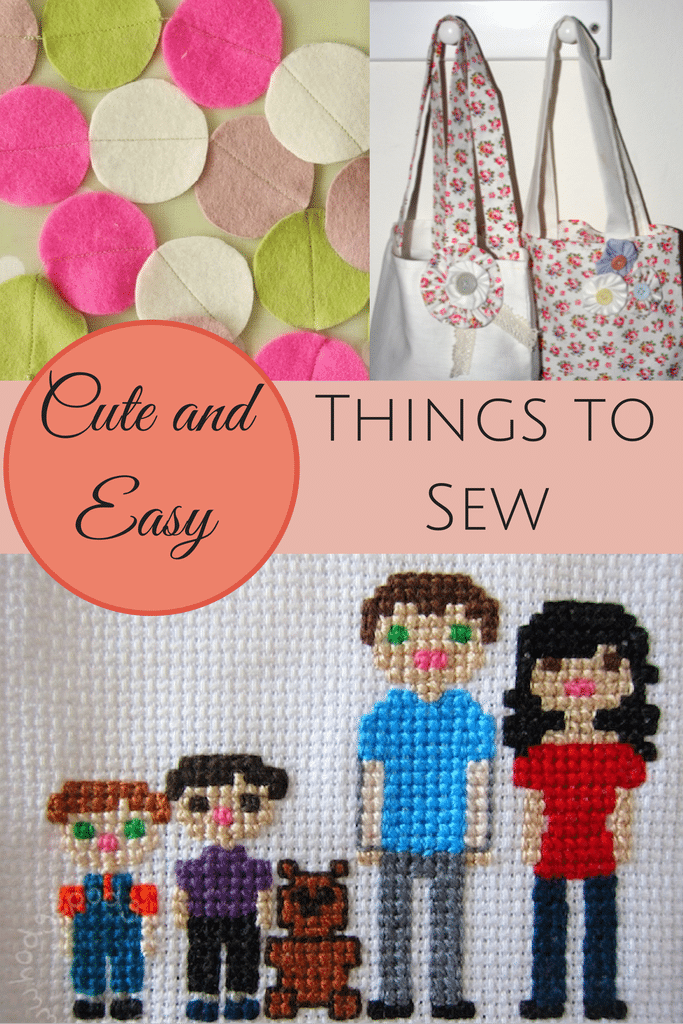 cute and easy things to sew pintorials crafts on sea