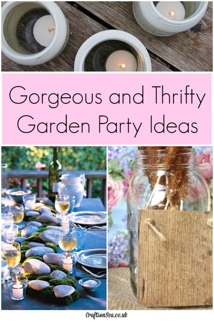 thrifty garden party ideas
