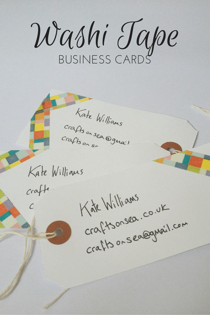 Gina\'s Craft Corner: 10 DIY Business Card Ideas
