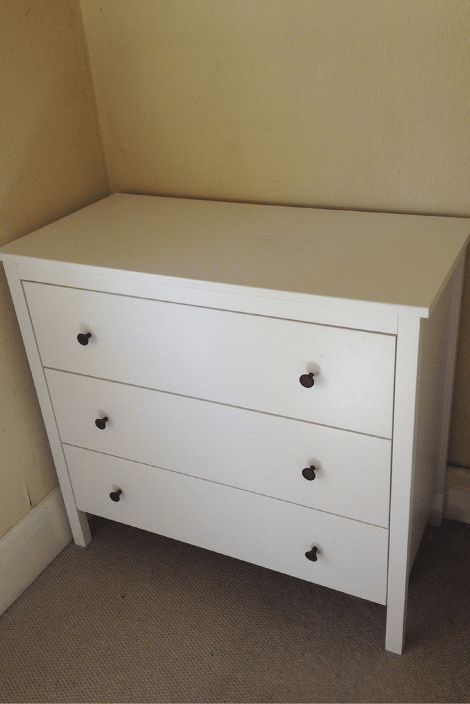 ombre chest of drawers koppang ikea hack crafts on sea