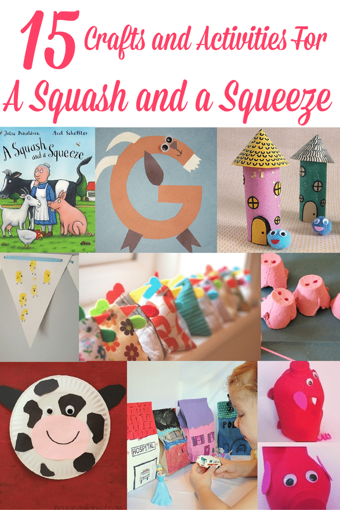 A Squash and a Squeeze Crafts