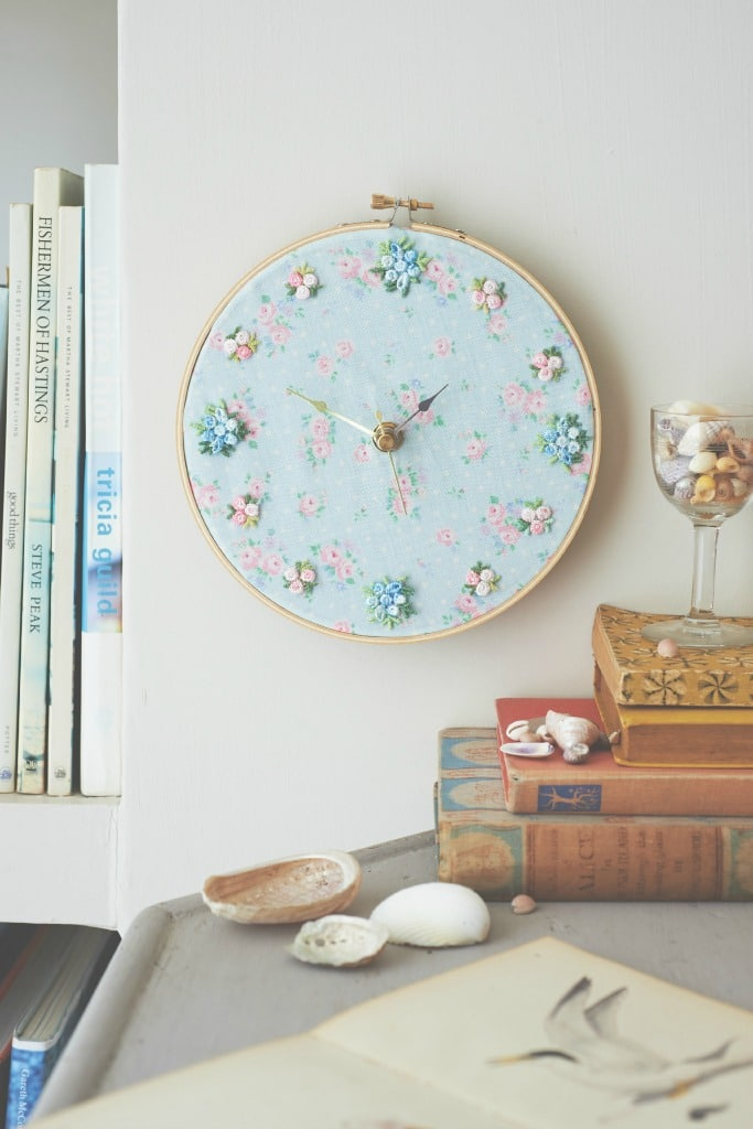 DIY Vintage Shabby Chic Upcycled Clock
