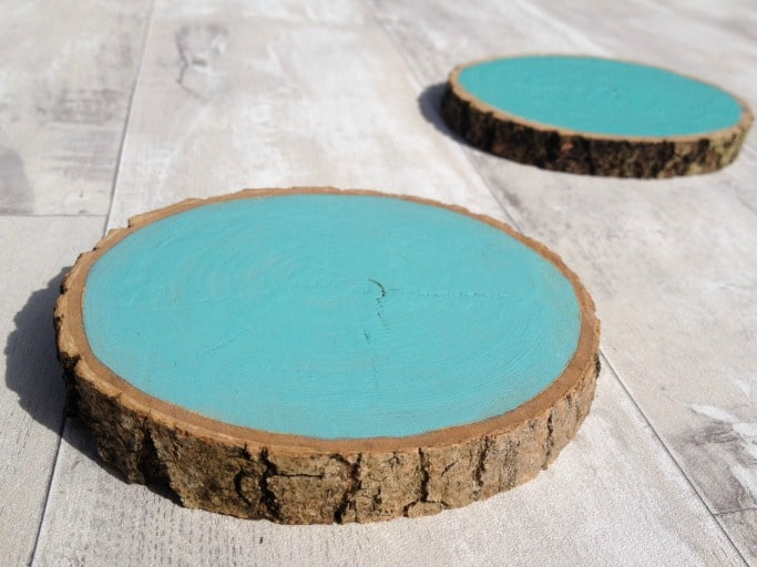 Wooden Drink Coasters Tutorial Crafts On Sea