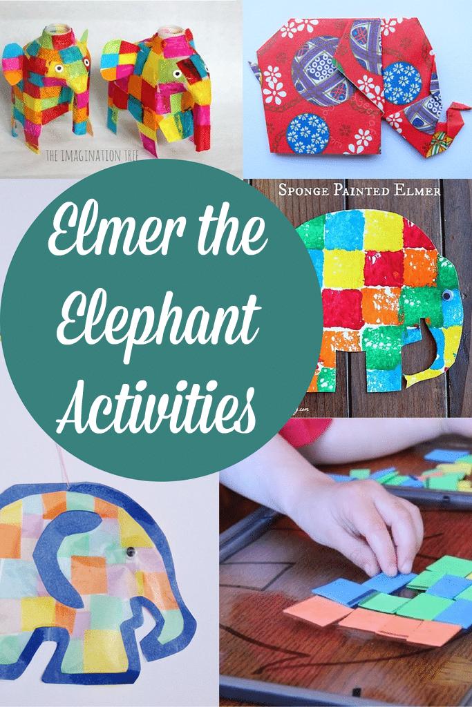 Elmer The Elephant Activities