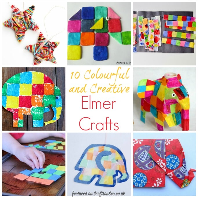 elmer the elephant crafts