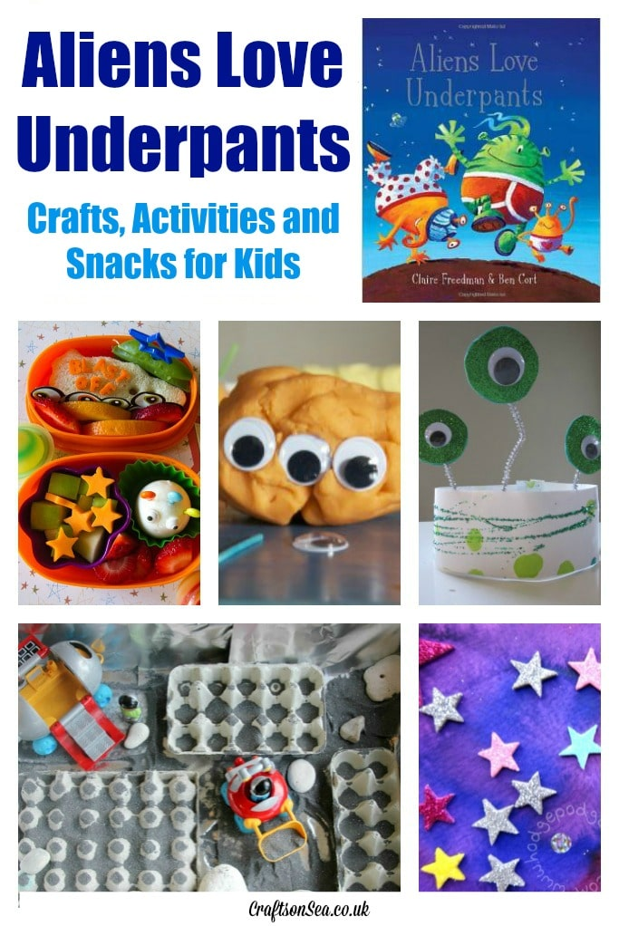 Aliens Love Underpants Activities and Crafts for Kids