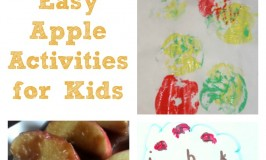 Easy Apple Activities for Kids