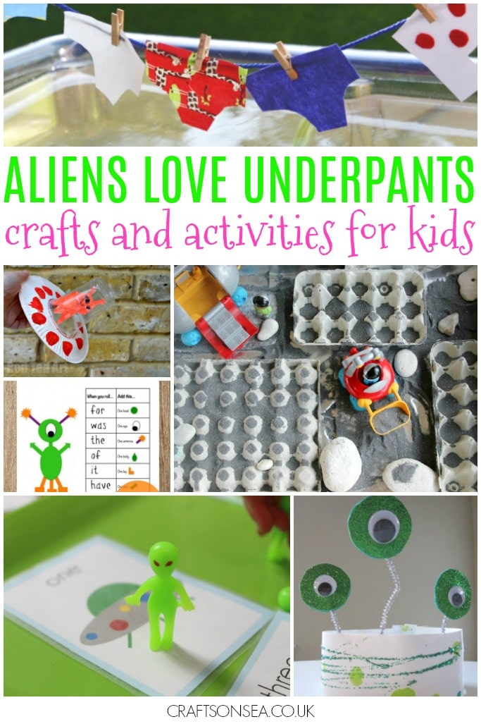 aliens love underpants crafts and activities for kids