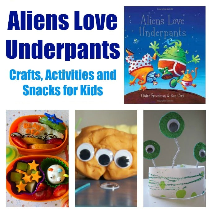 aliens love underpants crafts