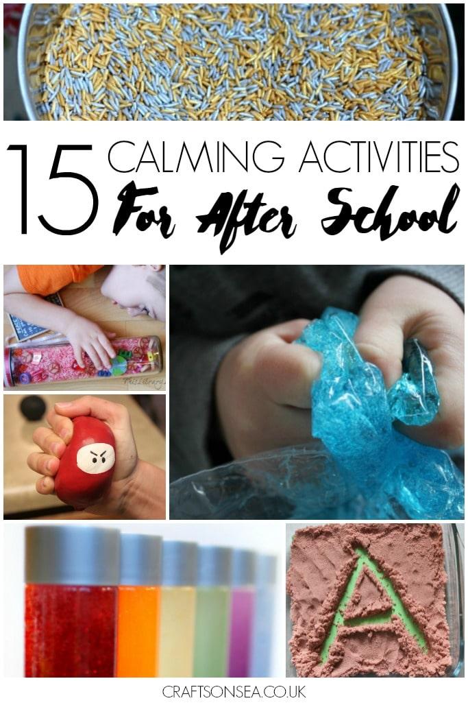 calming-activities-for-after-school