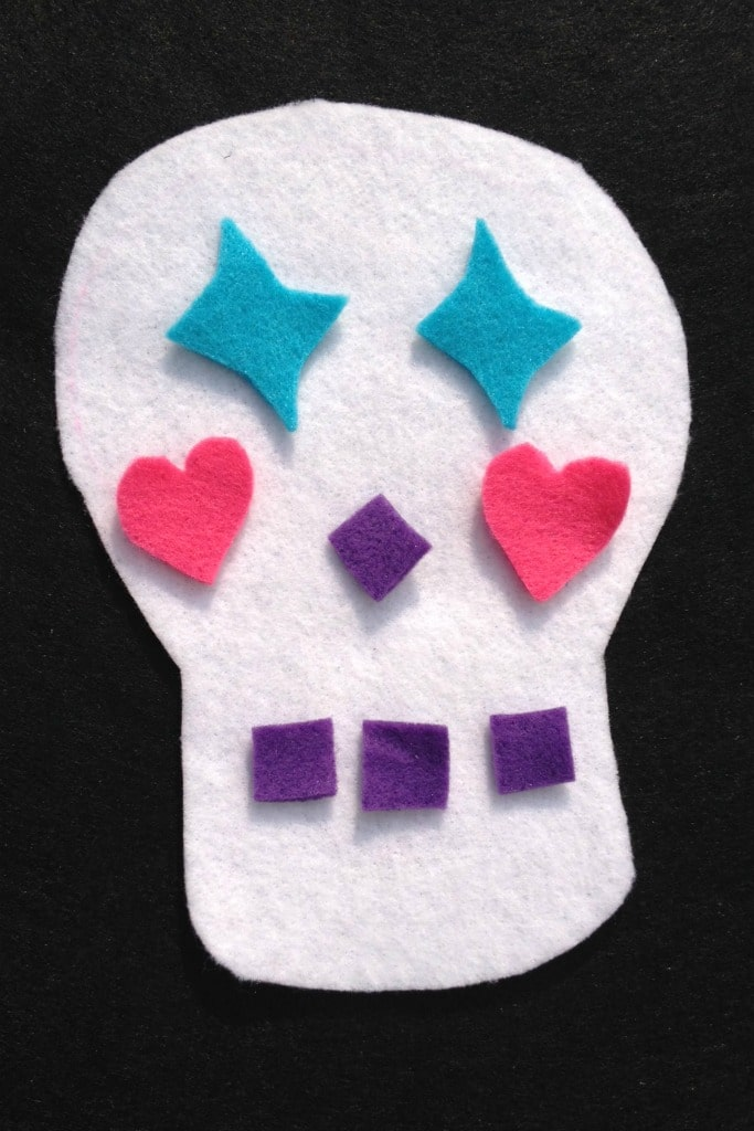 day of the dead craft idea for kids