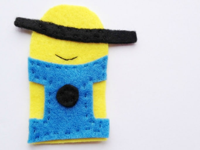How To Make Minion Finger Puppets Crafts On Sea