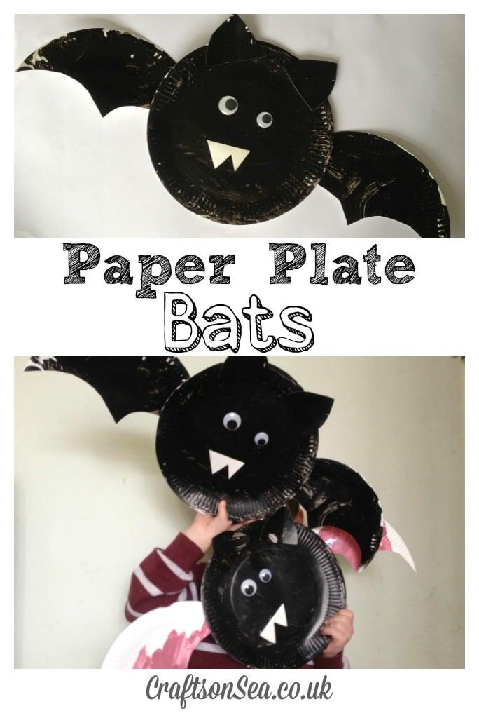 Paper plate bats