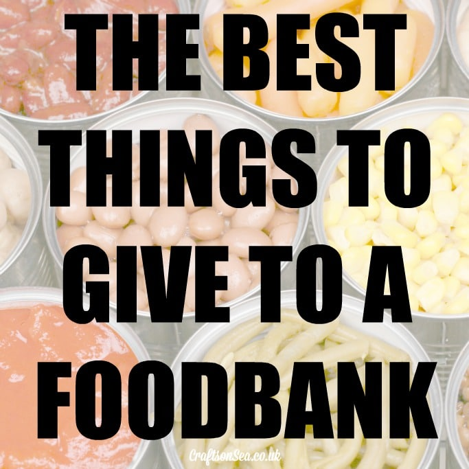 16 best things to give to a foodbank