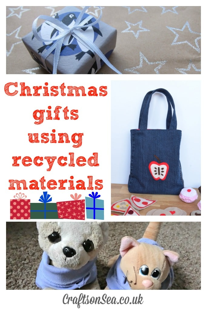 christmas gifts using recycled materials