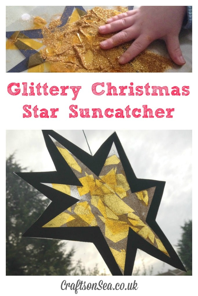 christmas star craft for preschoolers