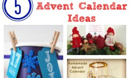 5 Easy Homemade Advent Calendar Ideas