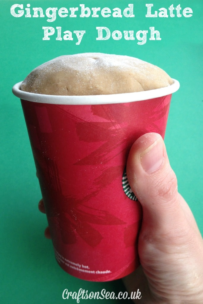 gingerbread latte playdough
