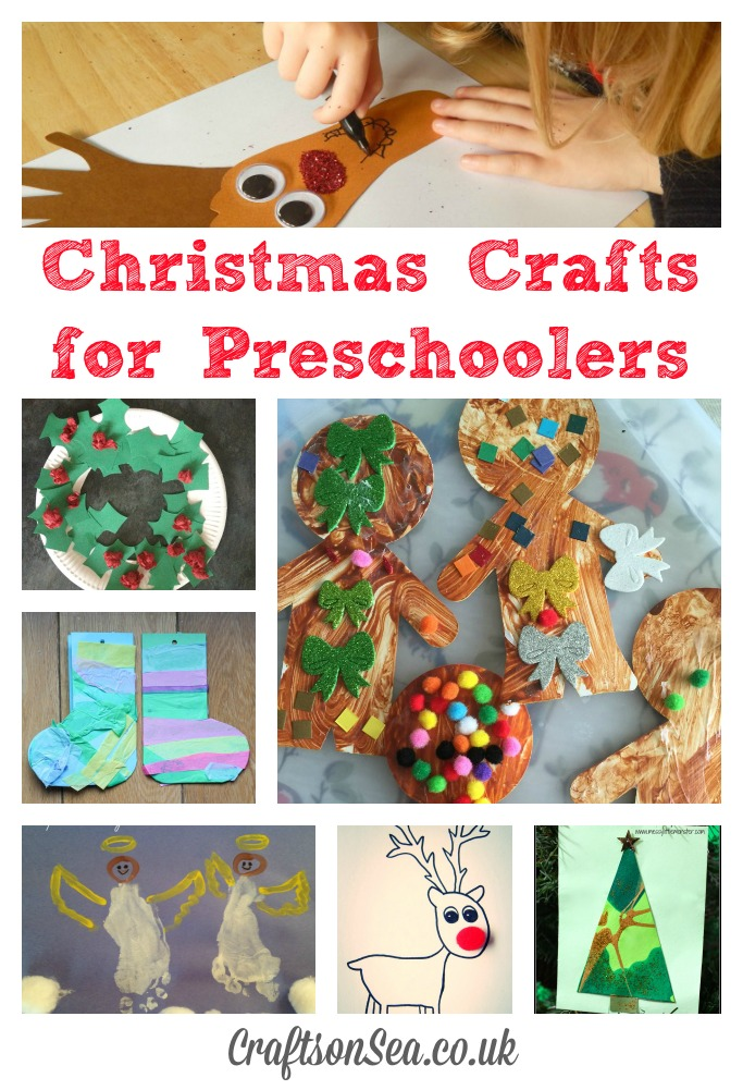 Christmas crafts for preschoolers crafts on sea