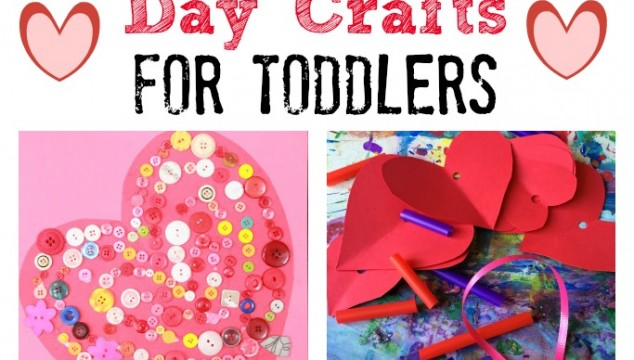 Easy Valentines Day Crafts for Toddlers