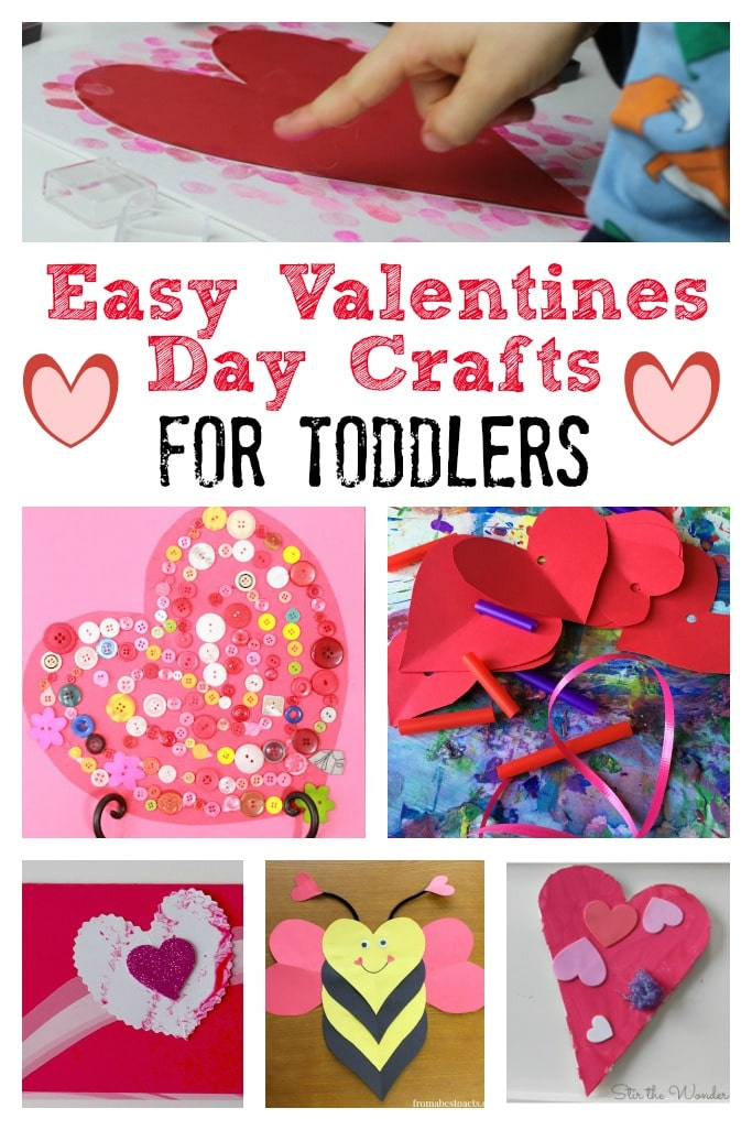Valentines day crafts for toddlers crafts on sea for Valentines day toddler crafts