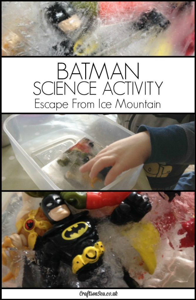 batman science activity for kids