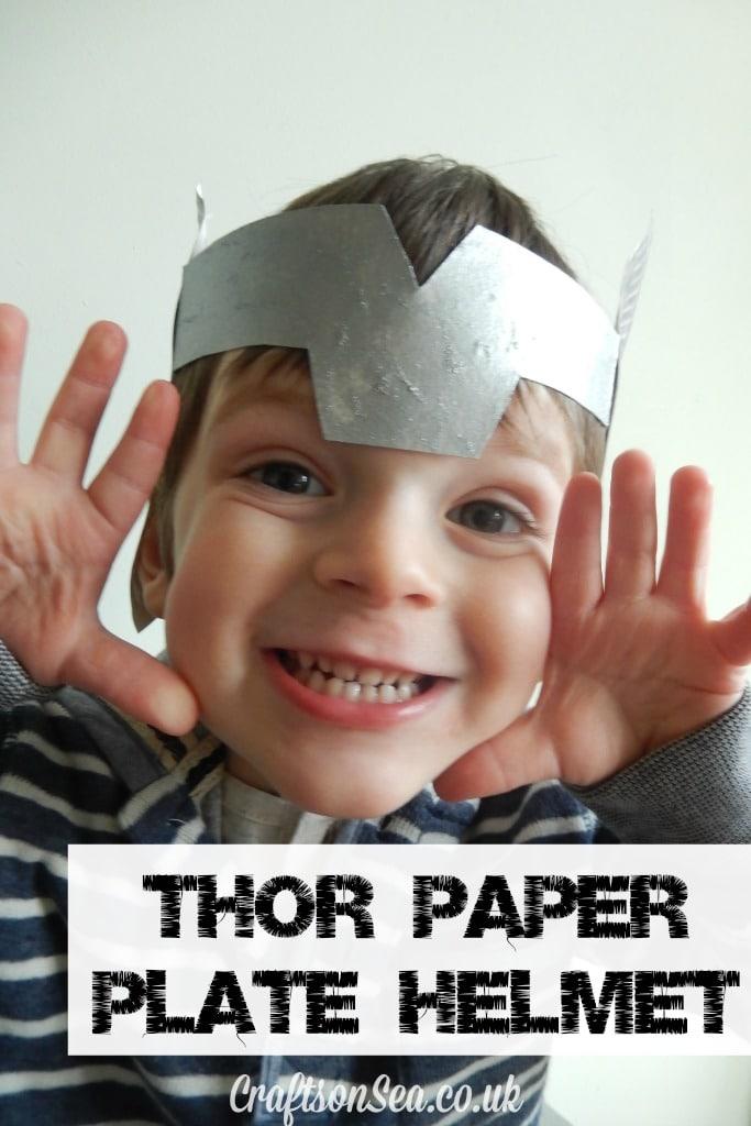 Thor helmet tutorial