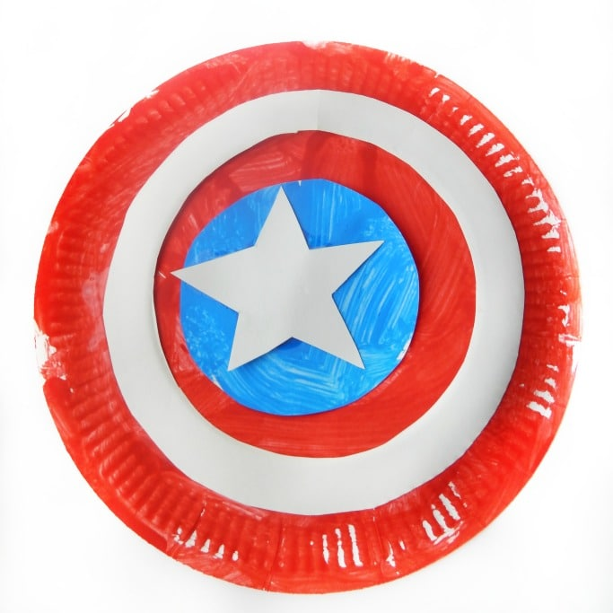 captain america craft ideas