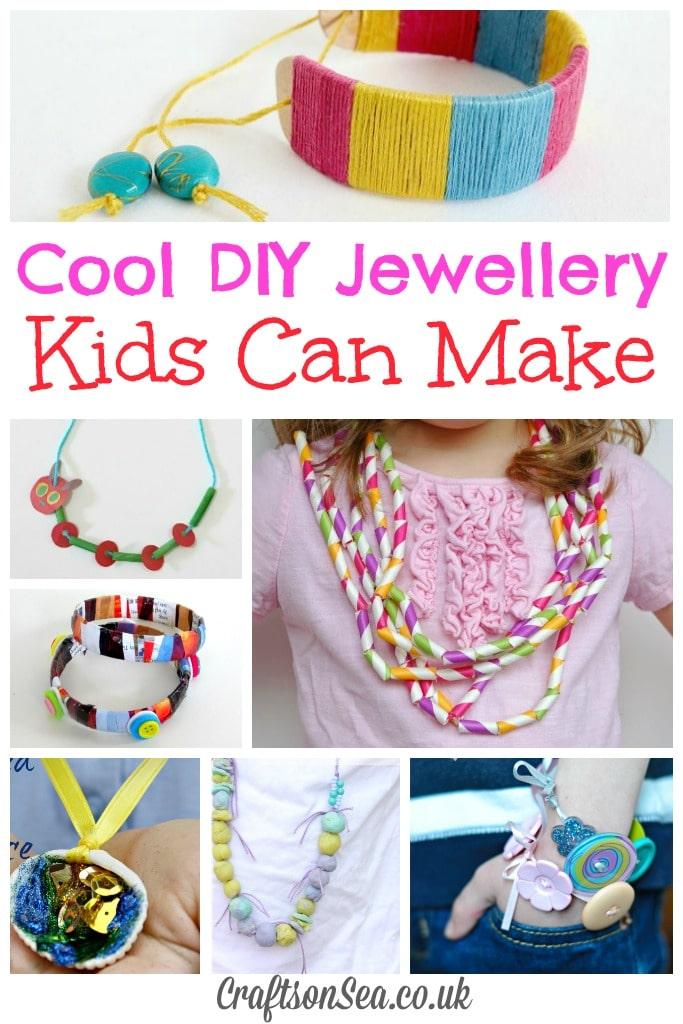 Cool DIY Jewellery Kids Can Make