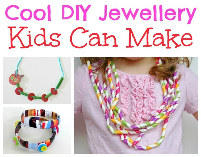 DIY Jewellery Kids Can Make