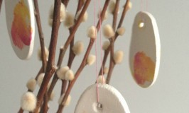 DIY Kids Easter Tree Decorations