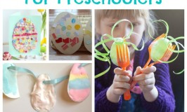 Easter Egg Crafts for Preschoolers