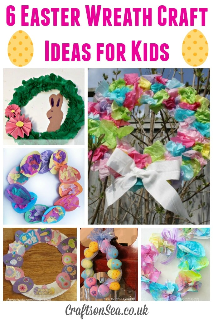 Easter Wreath Craft Ideas For Kids Crafts On Sea