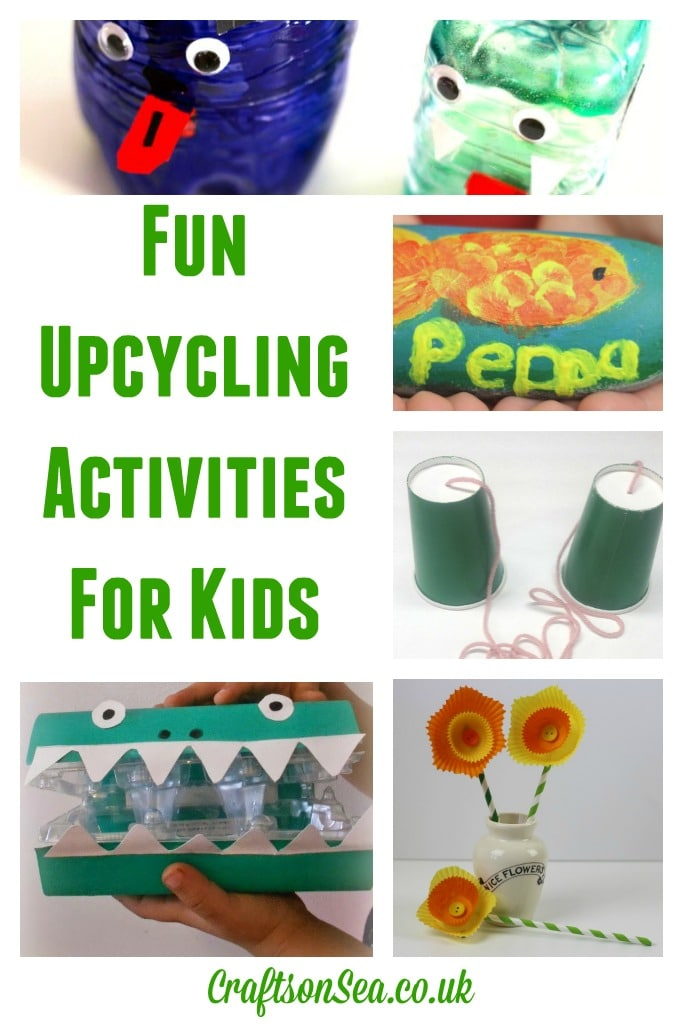 Fun upcycling activities for kids