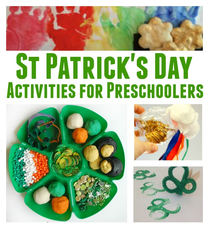 St Patricks Day Activities for Preschoolers Pre-K