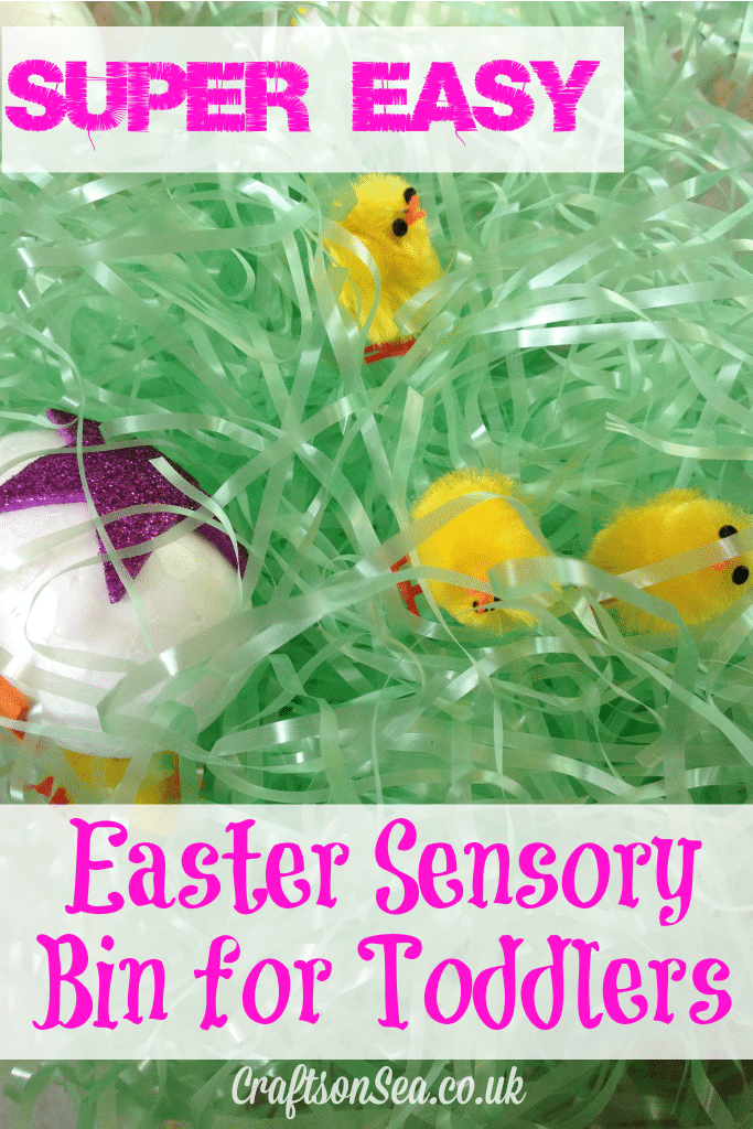 easy easter sensory bin for toddlers
