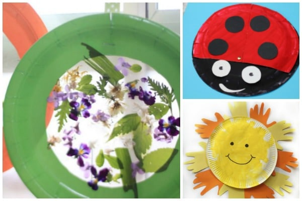 easy spring paper plate crafts for kids