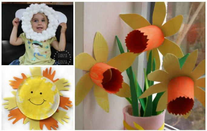 spring paper plate crafts for kids  sc 1 st  Crafts on Sea : paper plate crafts for spring - pezcame.com
