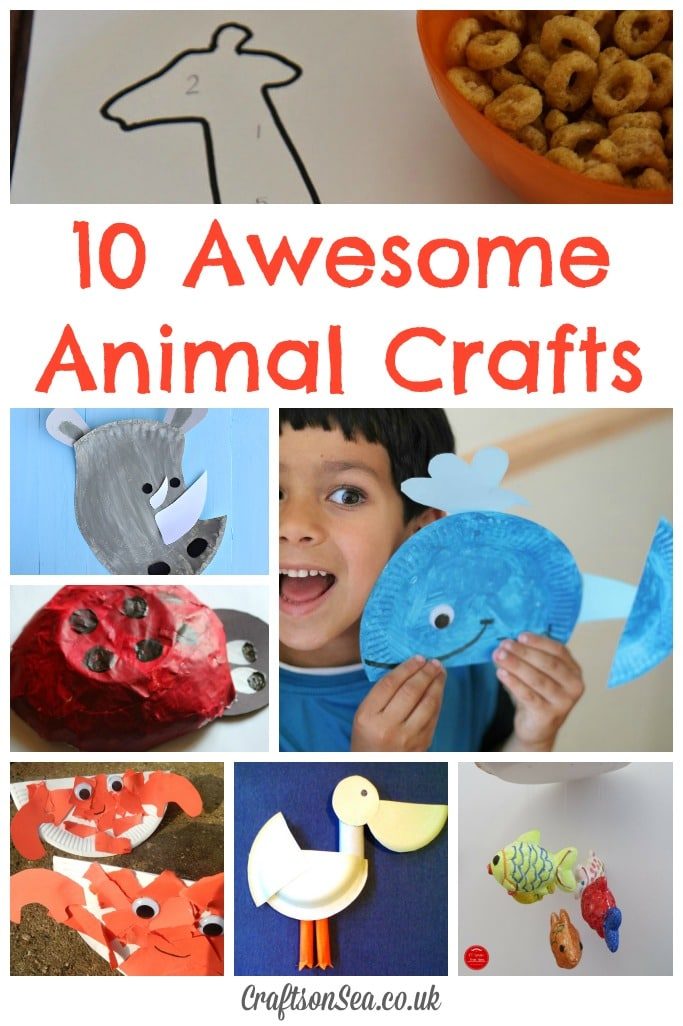 10 Awesome Animal Crafts