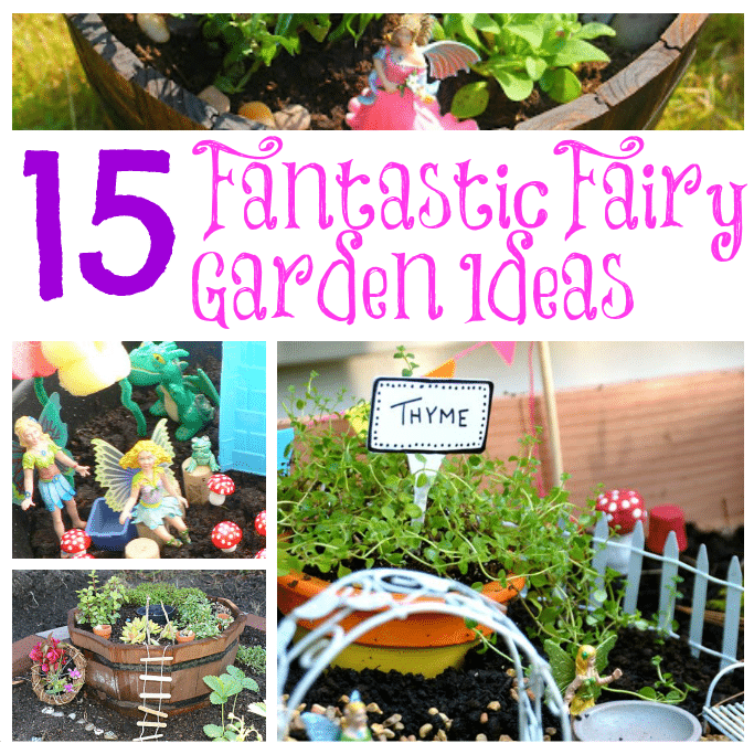 15 Fantastic Fairy Garden Ideas Crafts on Sea