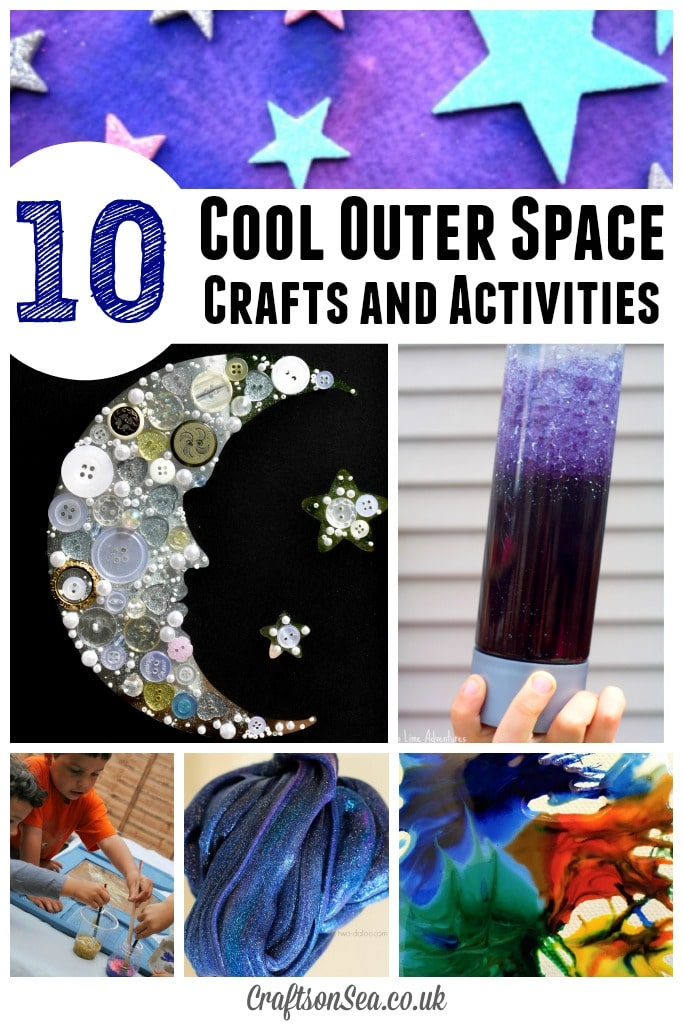 The coolest outer space crafts for kids crafts on sea for Outer space project